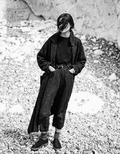 'Cover Me' Emma Champtaloup by Annemarieke Van Drimmelen for Vogue Netherlands September 2014