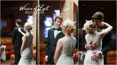 First Look :) - Whispers of Light Photography - Minnesota wedding photography