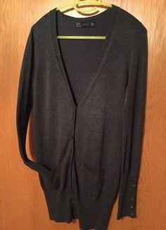 #Zara #Cardigan #Damen #Damencardigan #grau #lang #dünn #angenehm #Mode #Kleiderkreisel http://www.kleiderkreisel.de/damenmode/cardigans/139638978-dunkelgrauer-cardigan-von-zara