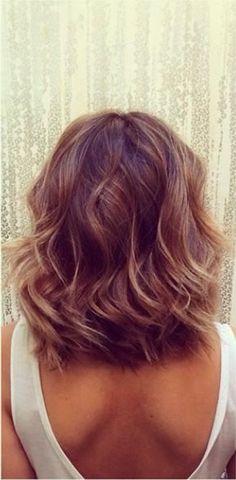 Hairstyles for Medium Length Hair: Bobs and Beach Waves @Cobi Anna ...