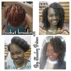 Crochet braiding - Black Hair Information Community Crochet Braids Hairstyles, Curled Hairstyles, Braided Hairstyles, Cool Hairstyles, Jerry Curl, Crochet Braid Styles, Marley Hair, Plaits, Kinky