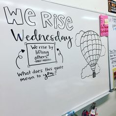 Daily Whiteboard Writing Prompts: Think About It Thursday Future Classroom, School Classroom, Classroom Ideas, Quotes For The Classroom, Classroom Icebreakers, Classroom Board, Classroom Inspiration, Quotes For Students, Bulletin Boards