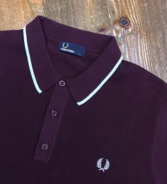 A simple contrasting tip is all you need on a Fred Perry polo! Masdings.com