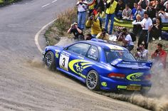 Subaru Rally Racers kicking up dust! Subaru Rally, Subaru Impreza Wrc, Rally Car, Wrx Sti, Rallye Automobile, Richard Burns, Rallye Wrc, Colin Mcrae, Performance Cars