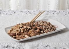 Recipe: red-cooked tofu with mushrooms / Ricetta: tofu marinato con funghi — X like Xian, China