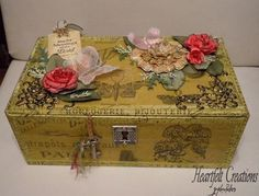 altered boxes scrapbooking for kids gifts | cigar boxes on Pinterest | Cigar Boxes, Altered Cigar Boxes and Cigars