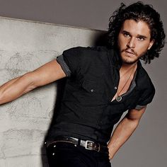 Kit Harington ...it's not fair really...I don't even watch GoT (yet).  At least I know his character doesn't die for a while...