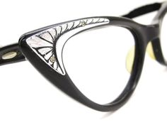 448d8b49d19 Vintage Ornate Cats Eye Eyeglasses Sunglasses Frame Buasch   Lomb. Cat Eye  Glasses ...