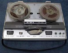reel to reel recorders  Dad gave me one like this in the sixties.  I had endless fun with it.