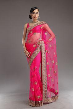 ALL - meena bazaar - Designers Lace Saree, Net Saree, Traditional Sarees, Traditional Outfits, Indian Attire, Indian Outfits, Meena Bazaar, Net Blouses, Big Fat Indian Wedding