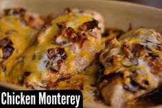 Print PDF    Last night for dinner, we had one of my husband's favorite 'restaurant copycat' meals. On the rare occasion that we do eat out, if Chicken Monterey is on the menu, you can bet he will order that…. and Mozzarella Sticks We like this with Stove Top White Cheddar Mac & …