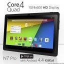 "NeuTab N7 Pro 7"" Quad Core Google Android 4.4 KitKat Tablet PC, 1024X600 Display, Bluetooth, HD Dual Camera"