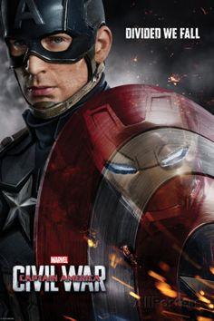 Captain America: Civil War - Captain America Vs Iron Man. Choose a Side Prints at AllPosters.com