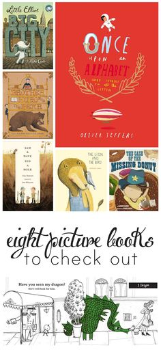 Great picture book suggestions for long winter days!