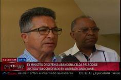 Ex Ministro de Defensa sale en libertad condicional de la celda del Palacio de Justicia
