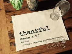 Hey, I found this really awesome Etsy listing at https://www.etsy.com/listing/241098495/thankful-placemat-of-natural-100-cotton