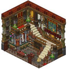 Mansion - Staircase by Cutiezor.deviantart.com on @DeviantArt