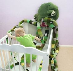 A giant stuffed Cthulhu for your baby's nursery