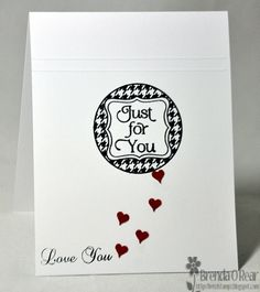 Benzi Stampz: For My Love using Cute Circles stamp set :)