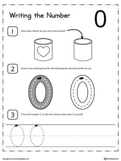 **FREE** Learn to Count and Write Number 0 Worksheet. Teach your child how to count and write numbers. Practice counting and writting number 0.