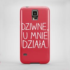 Dziwne, u mnie działa - cover Samsung Galaxy S5 w artiglo na DaWanda.com