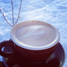 First snow of 2013 in Shasta Lake, CA.  Great pic from Heritage Coffee. https://www.facebook.com/HeritageRoastingCo