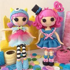 Lalaloopsy: bonecas Lalaloopsy com 21cm de altura modeladas à mão por Le Biscuit Denise Marrach. denisemarrach@hotmail.com Wats: 19-99763-9570 e 19-99602-8897