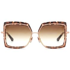 Dita Eyewear Square Tortoishell Sunglasses (8.244.285 IDR) ❤ liked on Polyvore featuring accessories, eyewear, sunglasses, glasses, brown, brown glasses, tortoiseshell glasses, square glasses, tortoise sunglasses and tortoise shell sunglasses