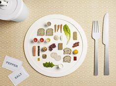Sportolj és bármit ehetsz? Meghökkentő miniatűr képek arról, hogy mi kerül egy olimpikon tányérjára.