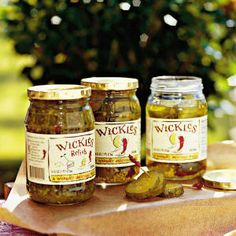 Wickles Pickles... the best damn pickles in the world!