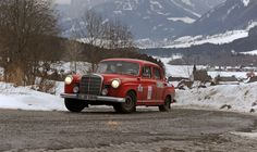 The Styrian Mountains are the stunning backdrop for this gallery of images from the Aflenzer Winterclassic rally Run in Austria, the rally is a classic regularity for pre-1975 cars and, as the phot...