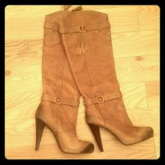 Gianni bini boots RESERVED FOR @DAILYDISCOUNTS Gianni Bini Shoes Heeled Boots