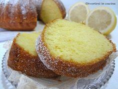 Ricetta ciambella al limone Divertirsi in cucina