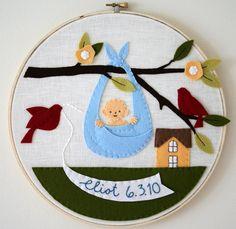 Cute idea for cloth book page