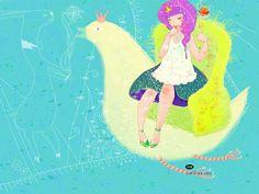 Korean Illustrators Series  : Art painting by Byetom  - Children's Book Illustration Artwork by Byetom 5