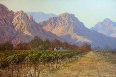 Fun Art, Cool Art, Landscape Art, Landscape Paintings, South Africa Art, John Meyer, South African Artists, Art For Art Sake, Cool Landscapes