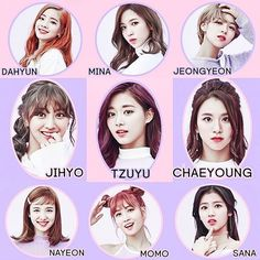 TWICE,sana,momo,jihyo,tzuyu,dahyun,mina,nayeon,chaeyoung