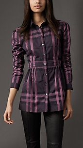 Swans Style is the top online fashion store for women. Burberry Shirt Women, Dress Shirts For Women, Clothes For Women, Kurti With Jeans, Kurti Sleeves Design, Tartan Fashion, Cool Outfits, Fashion Outfits, Stylish Dresses For Girls