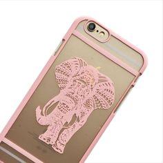 Baby Pink Spirit Elephant Phone Case