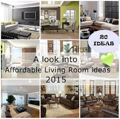 Affordable Living Room ideas 2015