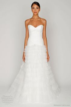 Bliss by Monique Lhuillier 2012 Wedding Dresses | Wedding Inspirasi