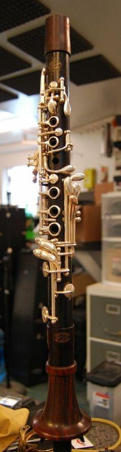 EB Clarinet Customized by Manning Custom Woodwinds | eBay