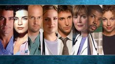 Wallpaper of Wallpaper for fans of ER 32359751 Best Fiction Movies, Drama Movies, Series Movies, Movies And Tv Shows, Tv Series, Michael Crichton, Medical Drama, Best Dramas, Star Trek Ships