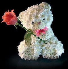Fresh Floral:  Teddy Bear