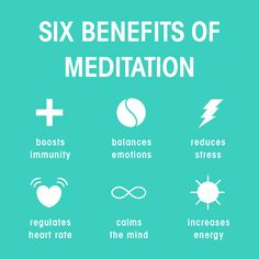 Six Benefits of #Meditation