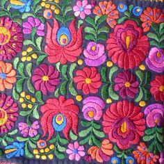 Hungarian Matyo Embroidery …