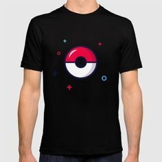 American Apparel T-shirts are made with 100% fine jersey cotton combed for softness and comfort. (Athletic Grey and Athletic Blue contain 50% polyester / 25% cotton / 25% rayon) #pokemon #tshirt