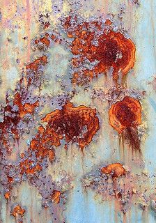 Looking forward to incorporating these interesting abstract rust colours into the next hat collection Art Grunge, Rust Paint, Peeling Paint, Art Abstrait, Texture Art, Abstract Photography, Art Plastique, Textures Patterns, Color Inspiration