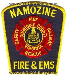 Namozine Fire and EMS Department Patch Virginia VA - #FirePatch #Firefighting #Firefighters #Setcom