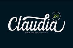 Claudia Script (25% Off) - Script - 1